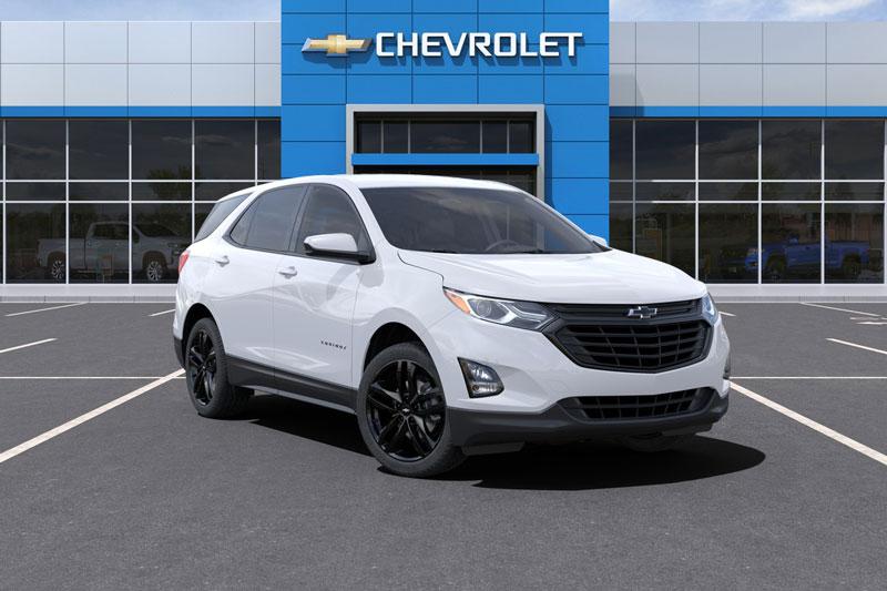 10. Chevrolet Equinox 1LT AWD 2021.
