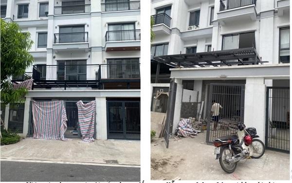 Việc xây dựng cơi nới vẫn đang tiếp tục diễn ra nhộn nhịp tại khu đô thị Gamuda Gardens.