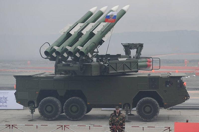 Hệ thống tên lửa Buk-M2E.