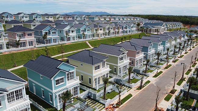 Các sản phẩm second home của NovaWorld Phan Thiet được đông đảo nhà đầu tư quan tâm và liên tục nằm trong top đầu dự án được tìm kiếm nhiều nhất trên CafeLand. (Ảnh: Second home Florida sắp bàn giao vào quý III/2021).