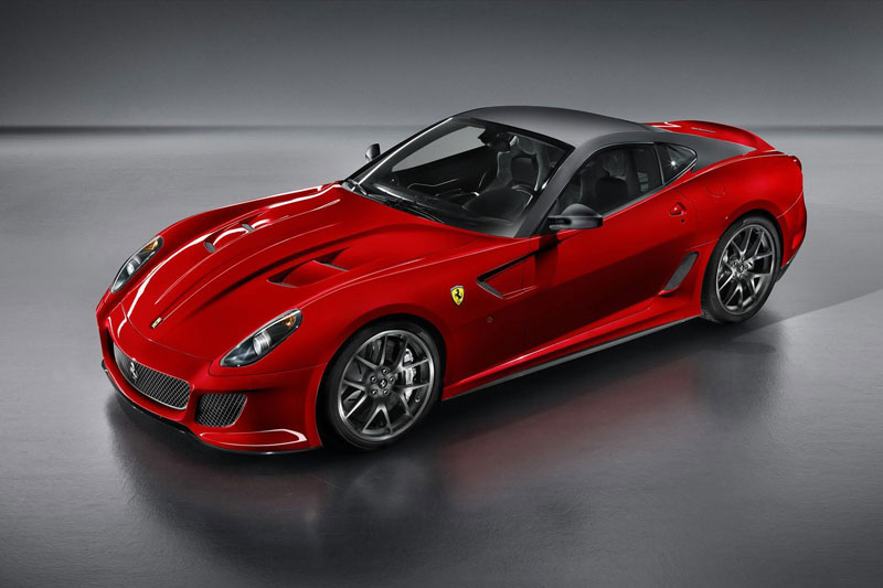 5. Ferrari 599 GTO.