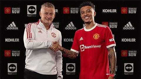 Sancho khiến mạng xã hội dậy sóng sau khi cập bên Man United
