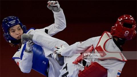 Olympic Tokyo 2020: Kim Tuyền thua võ sĩ Thái Lan ở tứ kết