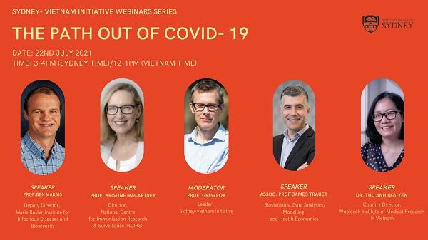 """Hội thảo trực tuyến DNVN - Các ý kiến thảo luận tại Hội thảo trực tuyến """"Con đường thoát khỏi COVID-19: Bài học từ Úc và Việt Nam"""""""