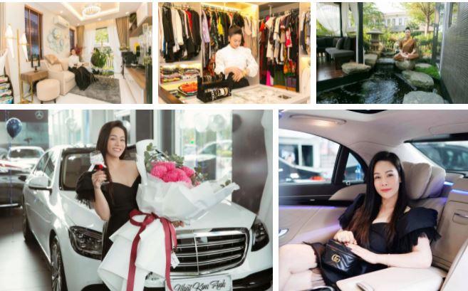 Độ giàu có của Nhật Kim Anh ở tuổi 36 khiến nhiều người nể phục và ngưỡng mộ