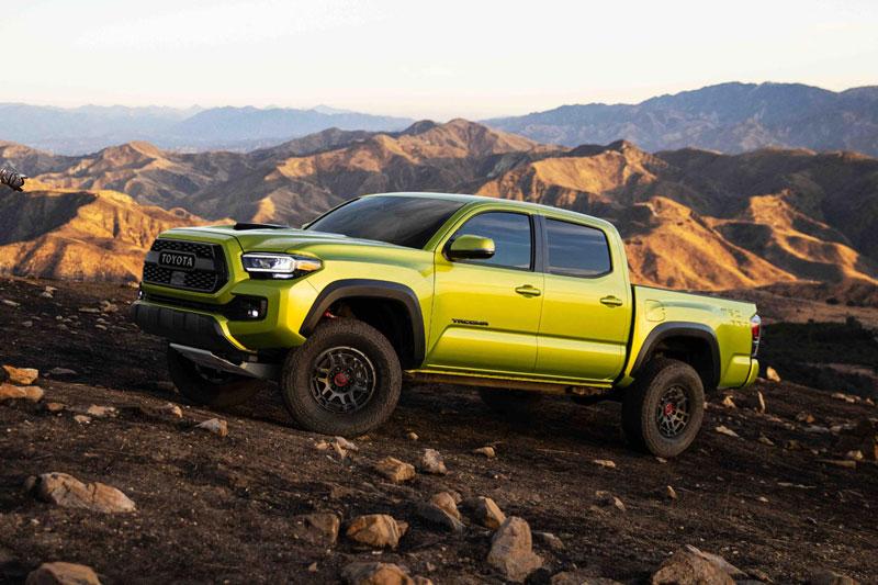 10. Toyota Tacoma 2022 (giá khởi điểm: 26.150 USD).
