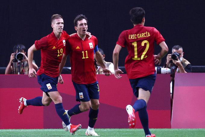Kết quả U23 Australia 0-1 U23 Tây Ban Nha: Bò tót chiếm ngôi đầu