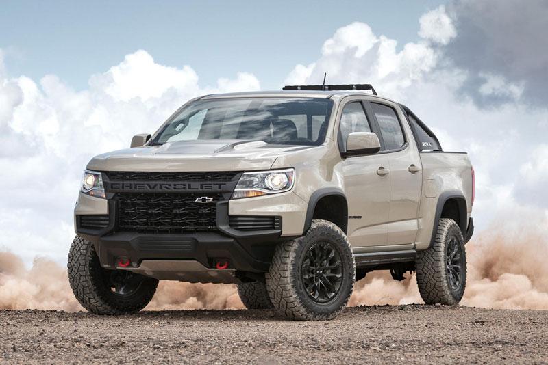 6. Chevrolet Colorado 2021 (giá khởi điểm: 27.700 USD).