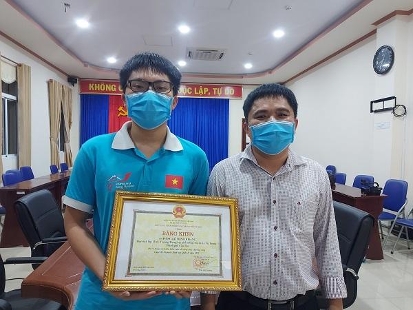 Chàng trai đạt Huy chương Vàng Olympic Sinh học Quốc tế 2021 mơ ước trở thành bác sĩ