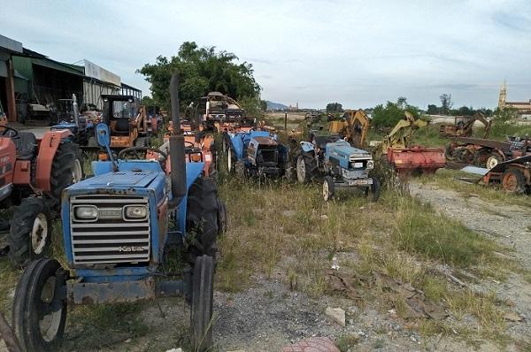 Nhiều máy nông nghiệp có nguy cơ trở thành phế liệu