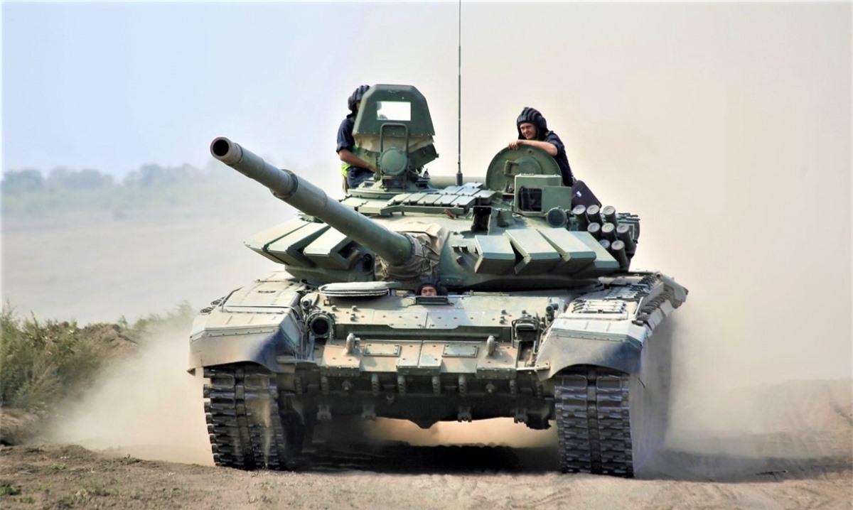 Việc Nga điều T-72B3 về trấn giữ Crimea là điều dễ hiểu. Ảnh: Rostec.ru