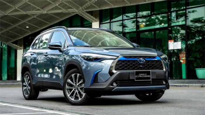 Toyota Corolla Cross chiếm ngôi đầu phân khúc SUV cỡ nhỏ 1