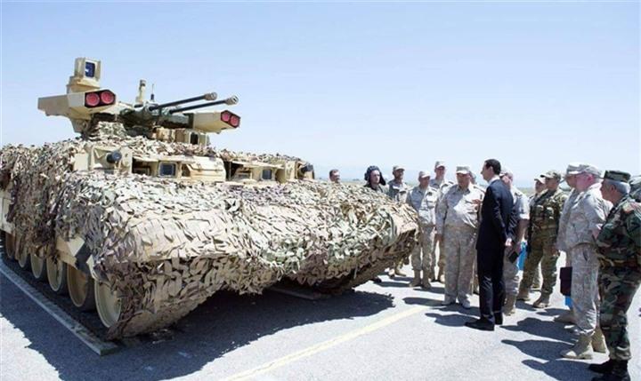 Vũ khí thay đổi cuộc chơi, Nga sẽ dùng BMPT-72 quét sạch bộ binh kẻ thù - 3