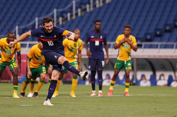 Gignac lập hat-trick giúp U23 Pháp ngược dòng khó tin trước U23 Nam Phi