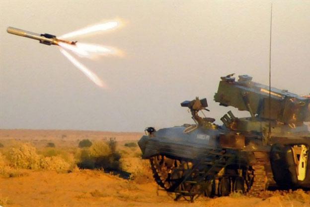 DRDO công bố tên lửa diệt mọi loại tăng