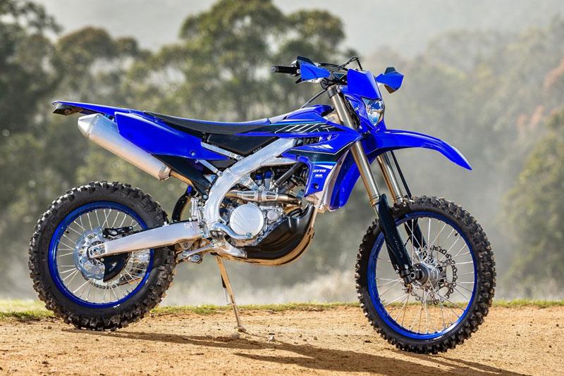 2. Yamaha WR450F 2021.