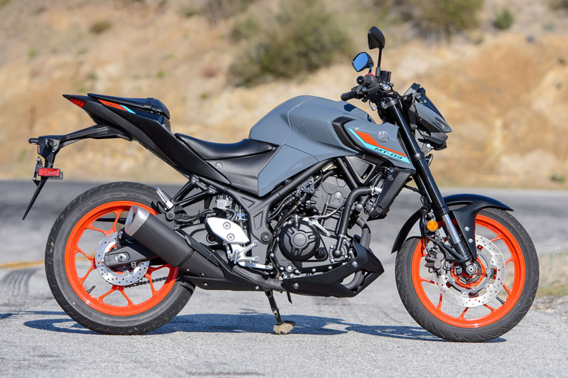 3. Yamaha MT-03 2021.