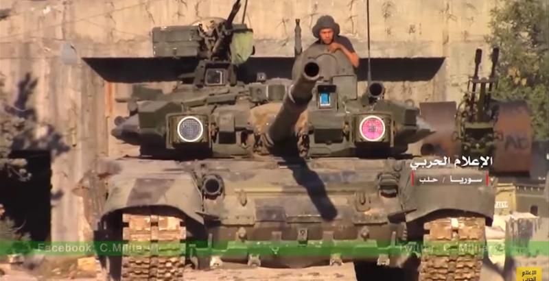 Một tiếng nổ lớn bùng lên từ giáp phản ứng nổ, đẩy đầu đạn của TOW ra khỏi xe tăng, giúp cho lớp giáp chính không bị xuyên thủng. Sau tiếng nổ, tháp pháo xe tăng vẫn còn nguyên vẹn, hộp đạn của súng máy 12,7 ly trên xe không bị bung ra, và không có dấu hiệu nào cho thấy đạn pháo bên trong xe tăng bốc cháy.