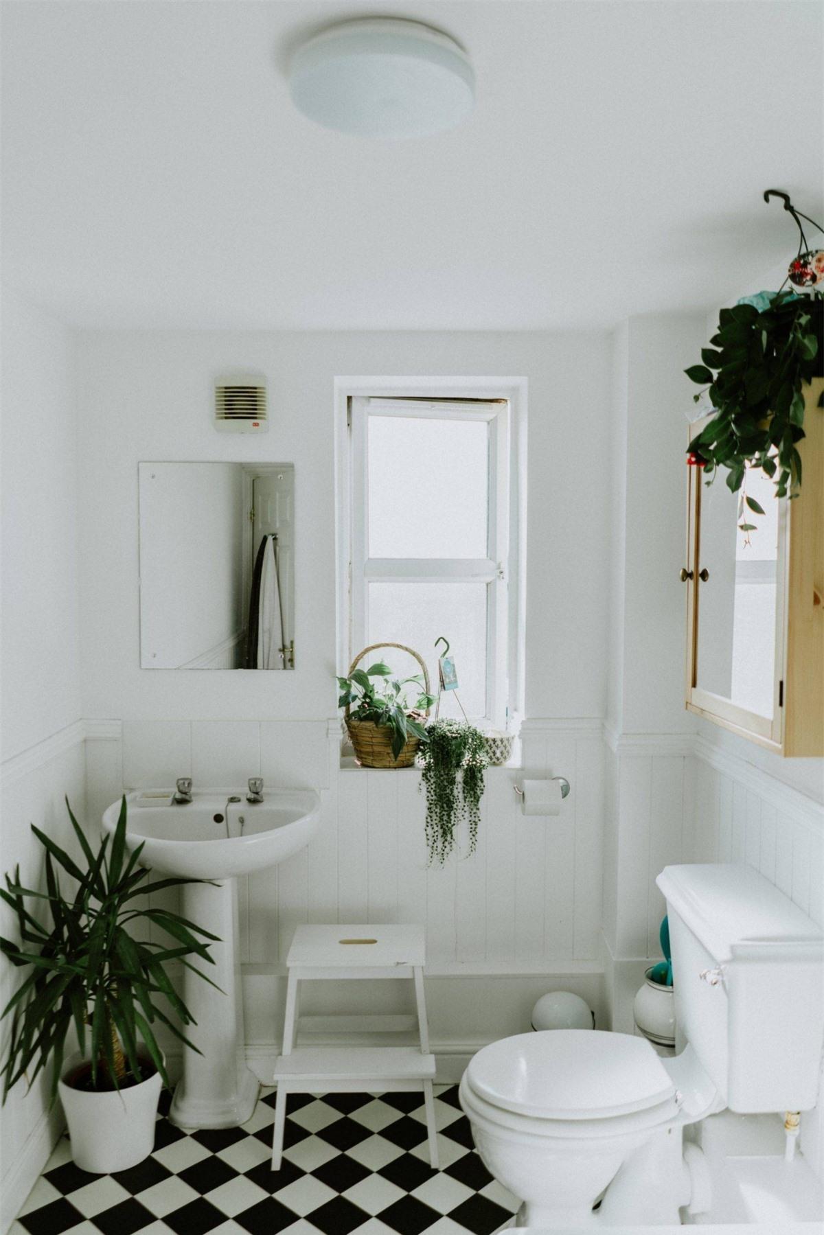 Màu trắng có lẽ là sự lựa chọn của khá nhiều gia chủ bởi mang lại một không gian mát mẻ và thanh lịch.