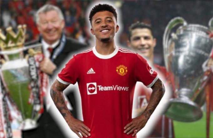 NHM MU đang kỳ vọng Sancho sẽ mang về các danh hiệu như thời Sir Alex và Cristiano Ronaldo