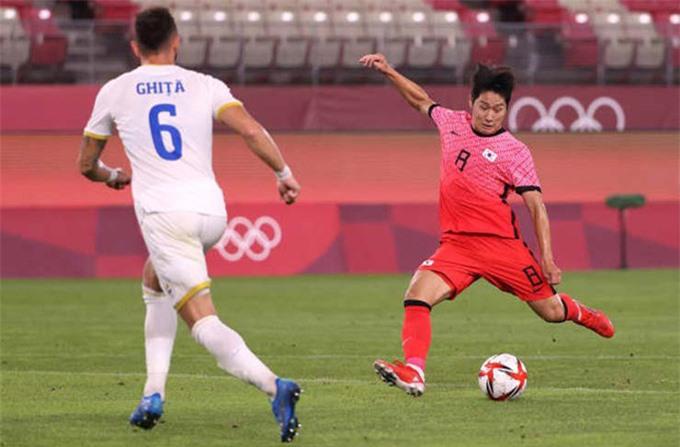 Lee Kang-in lập cú đúp ở trận U23 Romania vs U23 Hàn Quốc