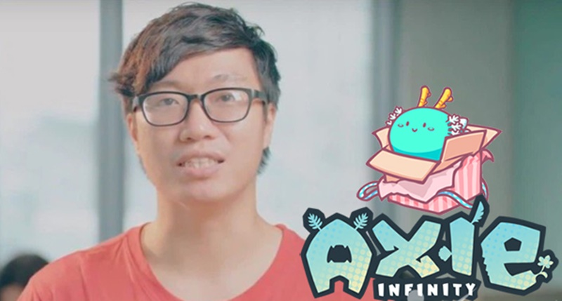 Nguyễn Thành Trung nảy ra ý tưởng phát triển game Axie Infinity vào năm 2017