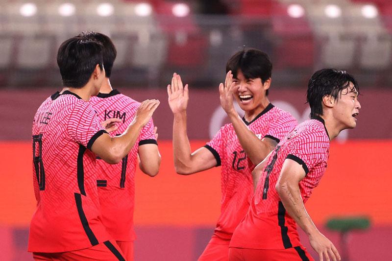 U23 Hàn Quốc dễ dàng giành 3 điểm.