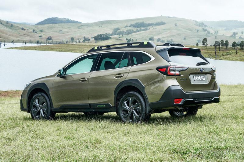 10. Subaru Outback 2021 (giá khởi điểm: 27.845 USD).
