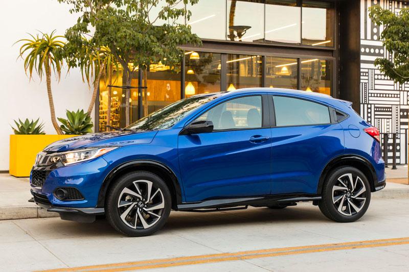 3. Honda HR-V 2021 (giá khởi điểm: 22.445 USD).