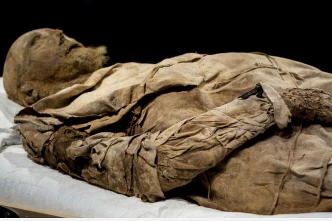 Chụp X-quang quan tài chứa xác ướp 300 tuổi của người đàn ông, các nhà khoa học ngỡ ngàng phát hiện bào thai ngay dưới chân
