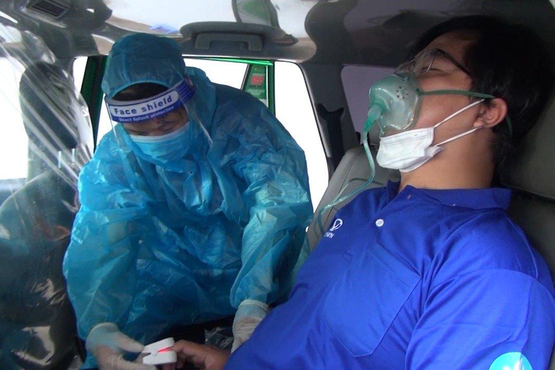 Các lái xe tham gia đội phản ứng nhanh đã được tập huấn y tế kỹ càng.