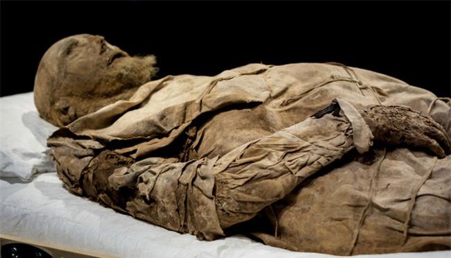 """Chụp X-quang quan tài chứa xác ướp 300 tuổi của người đàn ông, các nhà khoa học phát hiện """"bọc lạ"""" dưới chân rồi sốc khi biết đó là thai nhi - Ảnh 1."""