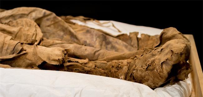 """Chụp X-quang quan tài chứa xác ướp 300 tuổi của người đàn ông, các nhà khoa học phát hiện """"bọc lạ"""" dưới chân rồi sốc khi biết đó là thai nhi - Ảnh 3."""