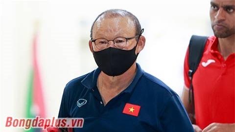 HLV Park Hang Seo chỉ đạo đội tuyển Việt Nam qua trực tuyến