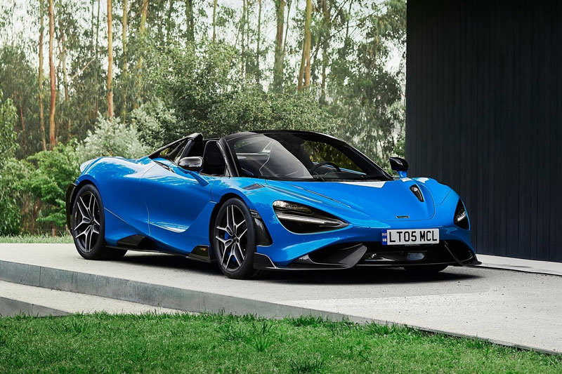 McLaren 765LT Spider 2022.