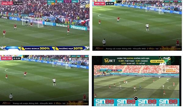 Audiovisual piracy during UEFA EURO 2020