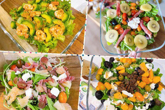Cách làm 8 món salad cực ngon, ăn đến đâu mát ruột đến đó