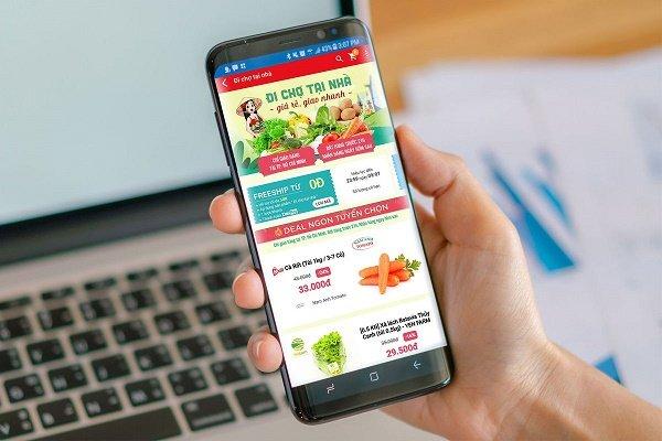 Sàn thương mại điện tử tăng tốc bán hàng thiết yếu cho người dân vùng dịch