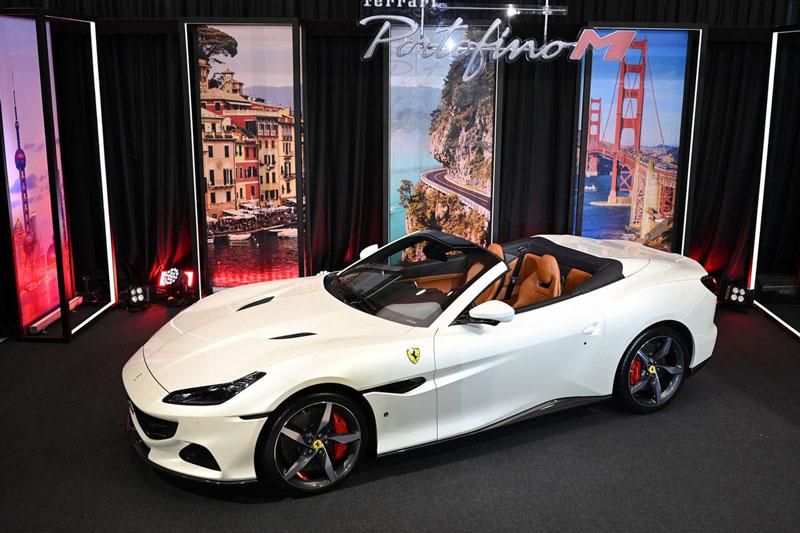 tận mục siêu xe Ferrari Portofino M 2021 giá 666.199 USD ở Thái Lan