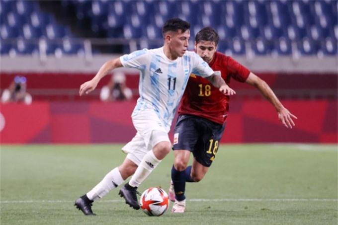 U23 Argentina đã bị loại sau trận hòa U23 Tây Ban Nha