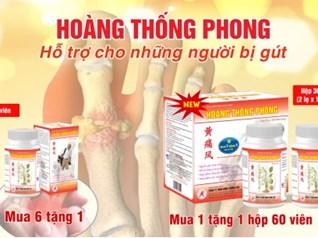 Giải pháp cải thiện bệnh gout hiệu quả nhờ sản phẩm thảo dược Hoàng Thống Phong