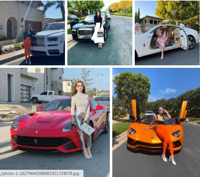Dàn siêu xe hoành tráng của Mimi Morris.