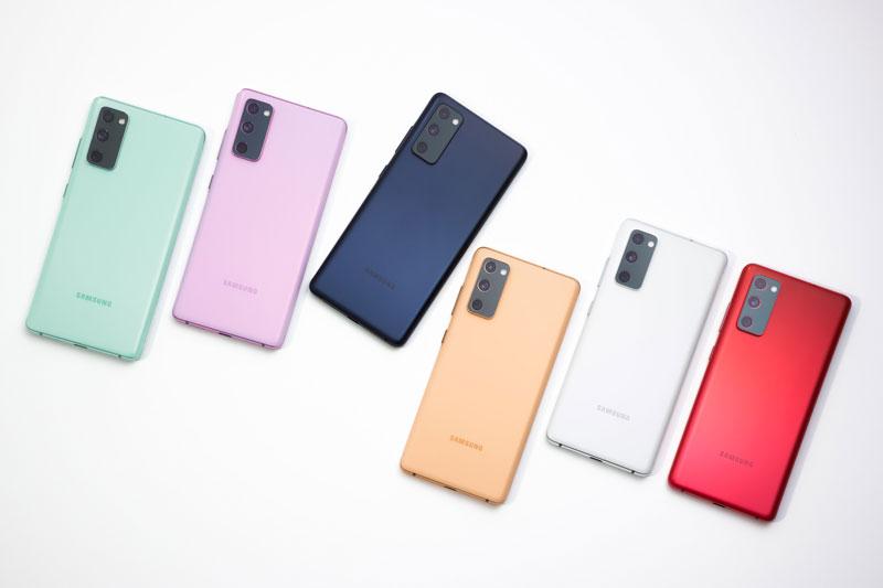 7. Samsung Galaxy S20 FE.