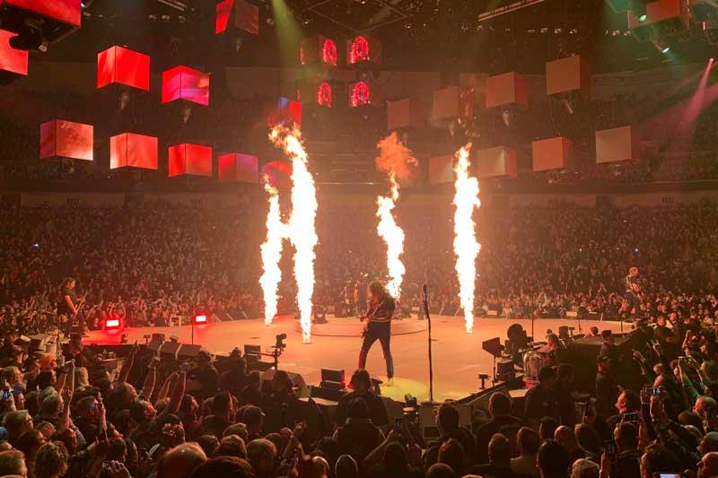 8. WorldWired Tour (Metallica) - Doanh thu: 416.900.000 USD.