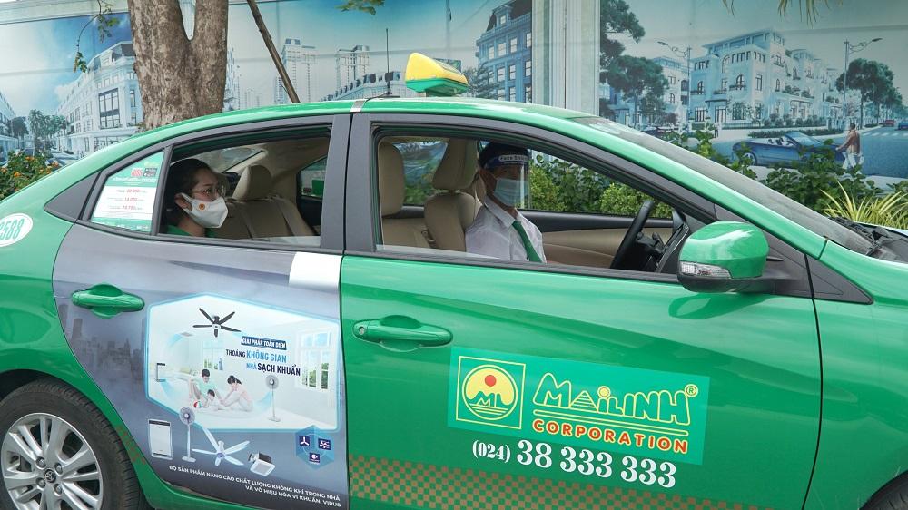 200 xe taxi Mai Linh bắt đầu hoạt động phục vụ người dân trong tình huống khẩn cấp trên địa bàn TP Hà Nội, từ chiều 28/7.