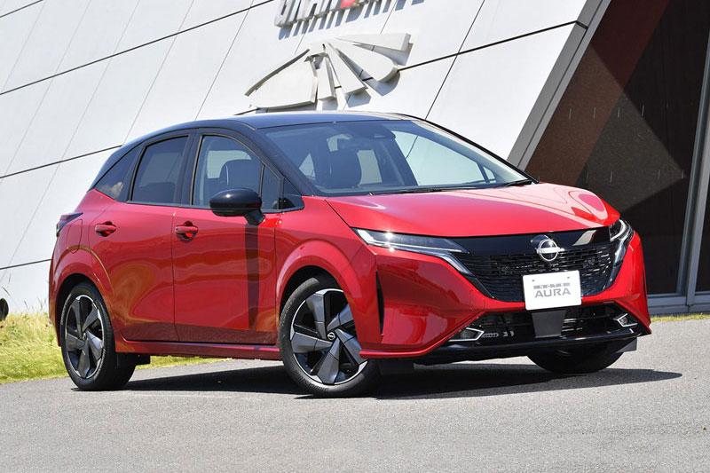 Nissan Note Aura 2022.