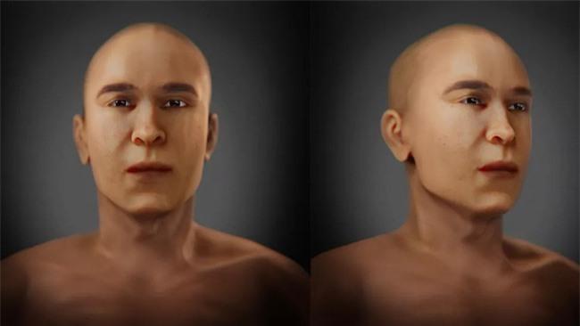 """Tái hiện khuôn mặt pharaoh Ai Cập từ bộ hài cốt, các nhà khoa khọc khiến thế giới """"ngả nghiêng"""" vì dung mạo như """"nam thần"""" của vua - Ảnh 1."""