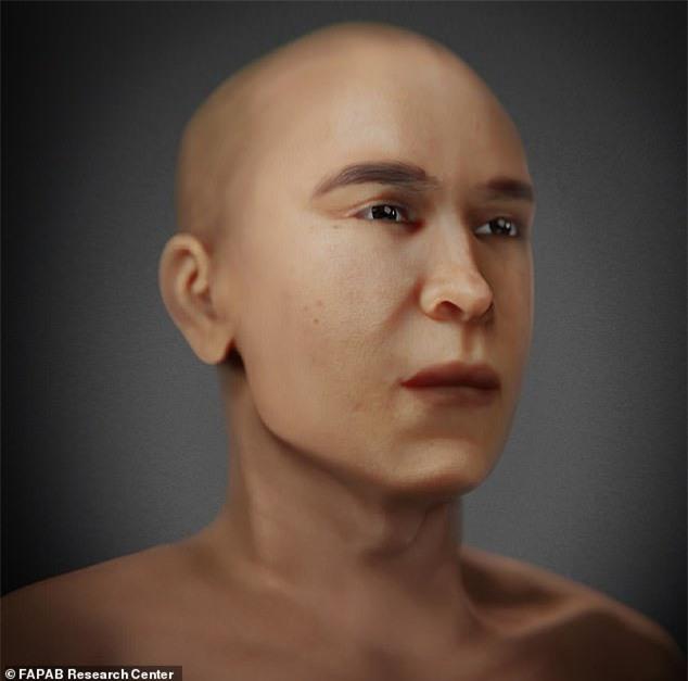 """Tái hiện khuôn mặt pharaoh Ai Cập từ bộ hài cốt, các nhà khoa khọc khiến thế giới """"ngả nghiêng"""" vì dung mạo như """"nam thần"""" của vua - Ảnh 4."""
