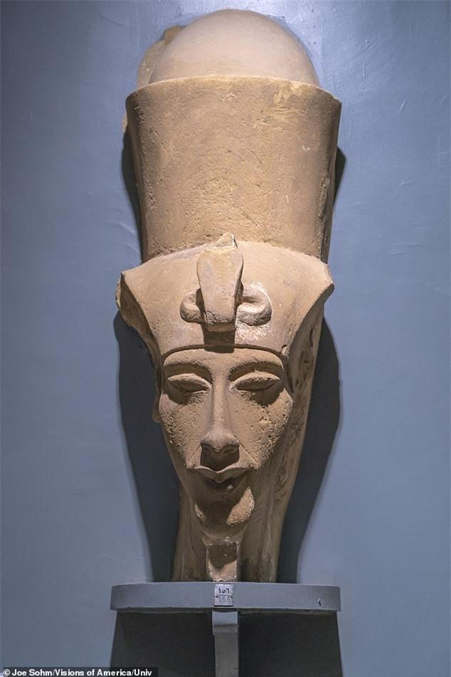 """Tái hiện khuôn mặt pharaoh Ai Cập từ bộ hài cốt, các nhà khoa khọc khiến thế giới """"ngả nghiêng"""" vì dung mạo như """"nam thần"""" của vua - Ảnh 5."""