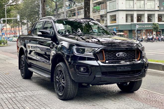 Giá lăn bánh Ford Ranger sau khi giảm 50 triệu đồng